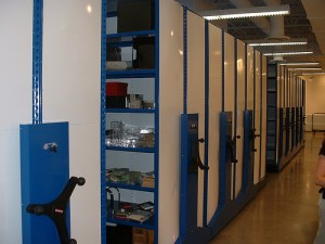 movable shelving solutions
