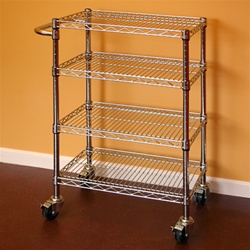 ... your Kitchen with Wire Shelving - The Shelving Blog The Shelving Blog
