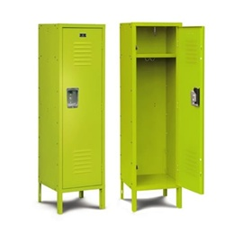 green lockers for dorm rooms