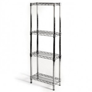 tall 4 shelf wire shelving