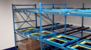 Maize and Blue for Michigan Pallet Racking from Shelving Inc.
