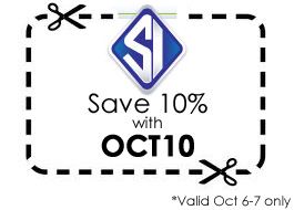 October 10% off coupon