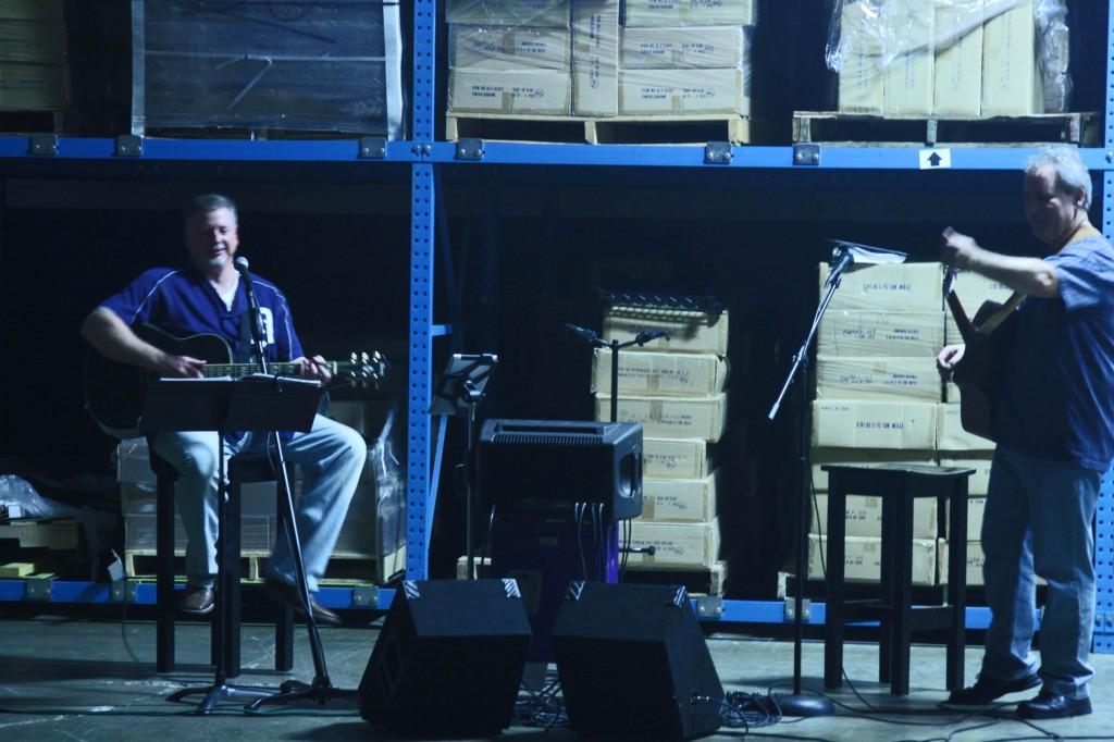 Jim Aiello in the band
