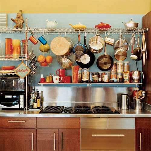 kitchen countertop wire shelves