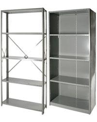 gray clipper shelves