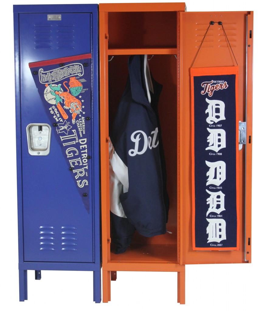 Detroit Tigers Lockers