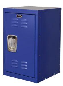 Blue mini locker for kids rooms