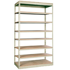 Single Rivet Shelving Units