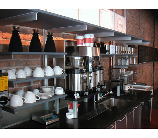 Restaurant Kitchen Metal Shelves wire shelving in your restaurant - the shelving blog