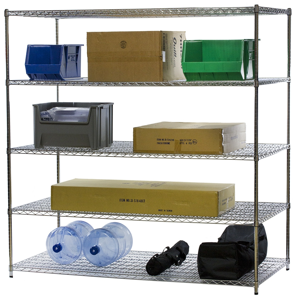 What Kind of Wire Shelving is Right for Me? - The Shelving Blog