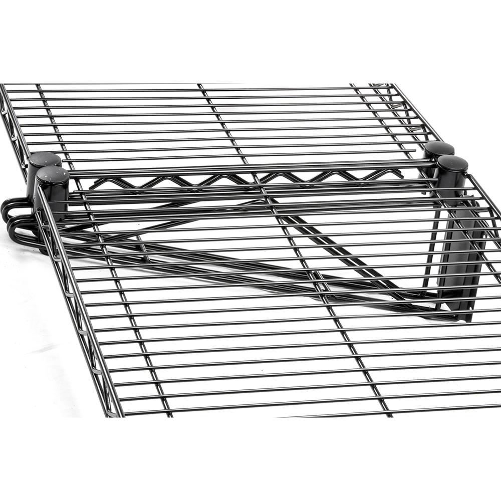 Exclusive Product! Black Wall Mount Wire Shelving - The Shelving Blog