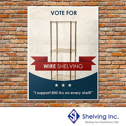 VoteForWireShelving