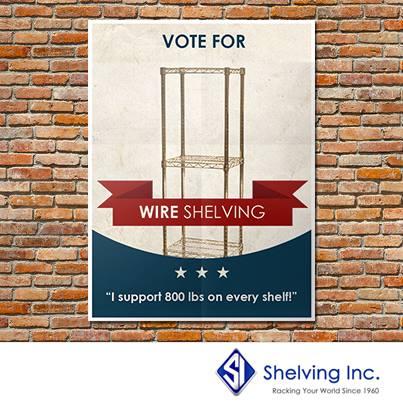VoteForWireShelving