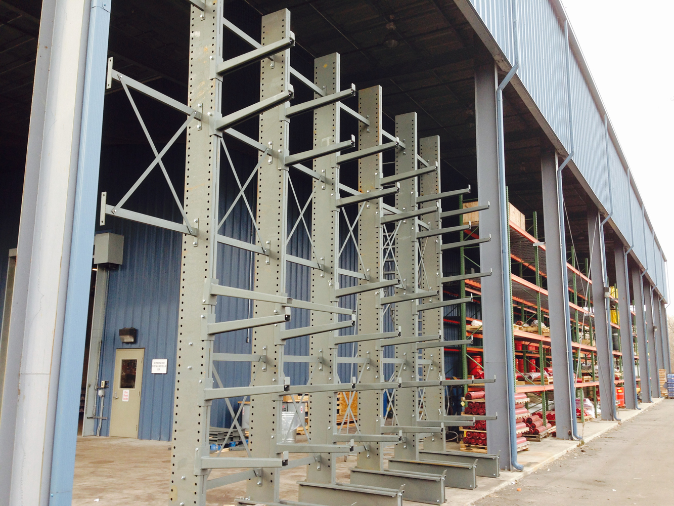 DTE Energy Cantilever Racking