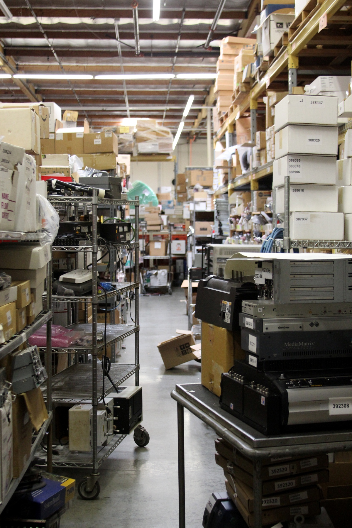 organize your warehouse in january