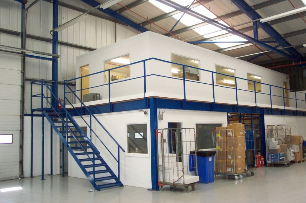 How a mezzanine can transform your warehouse the shelving blog - Open mezzanine ...
