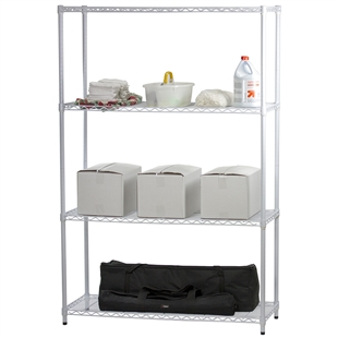 WhiteWireShelving