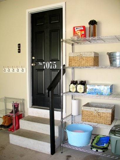 Wire Shelving In Garage