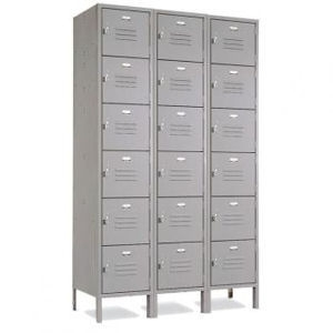 6 Tier Locker