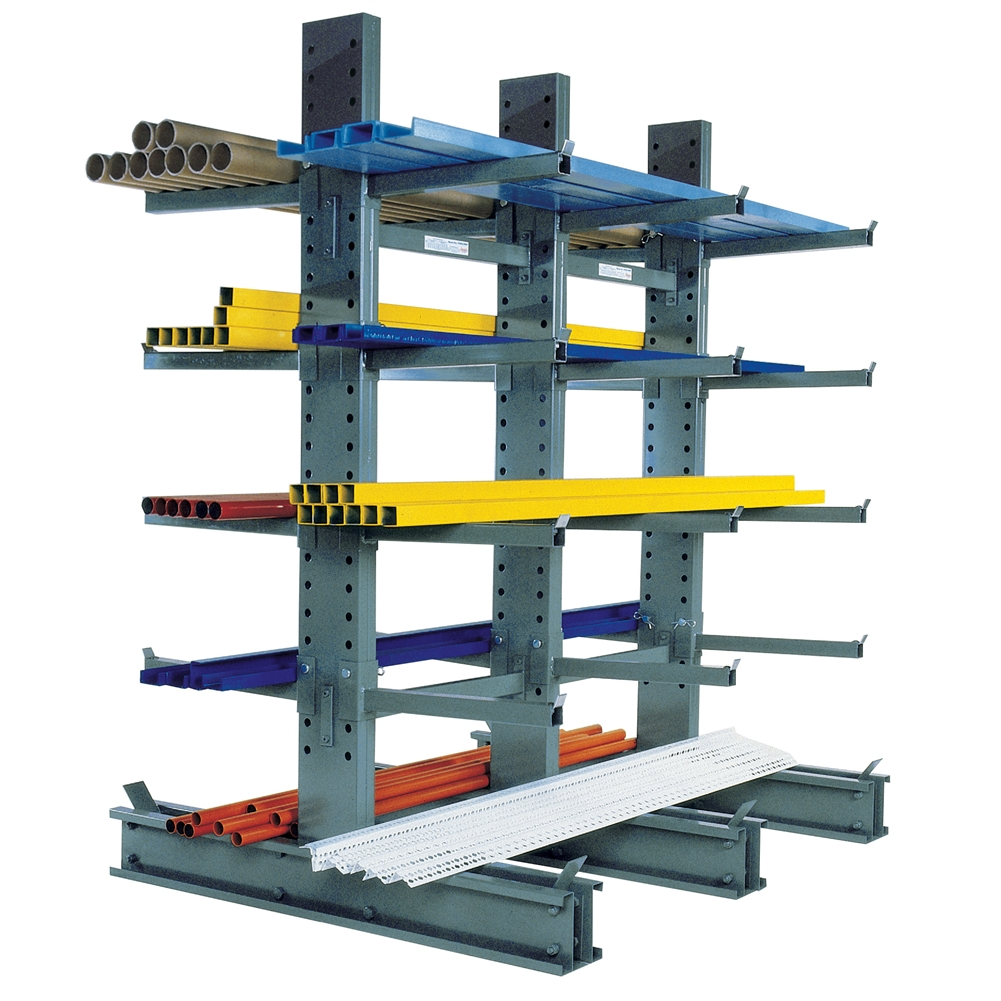 cantilever rack for pipes and lumber