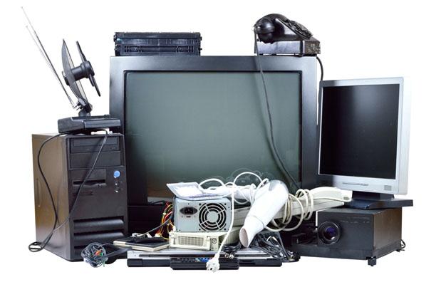 Messy Home Electronics
