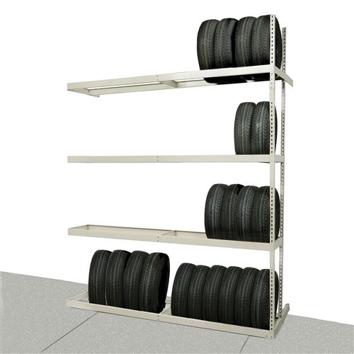 Tire Storage Shelves