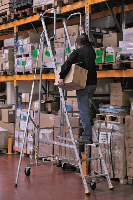 Proper Safety Ladder Usage Shelving Com