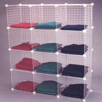 Uses For Grid Cube Storage - The Shelving Blog