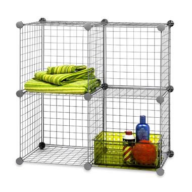uses for grid cube storage the shelving blog. Black Bedroom Furniture Sets. Home Design Ideas