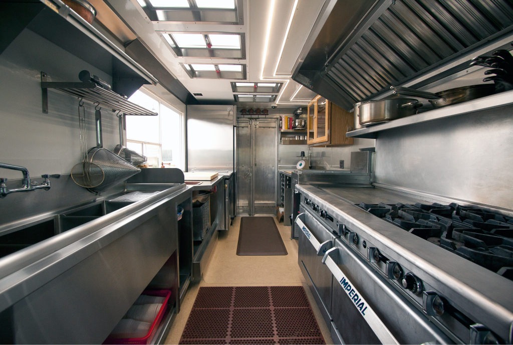 How to organize a food truck the shelving blog for Food truck layout