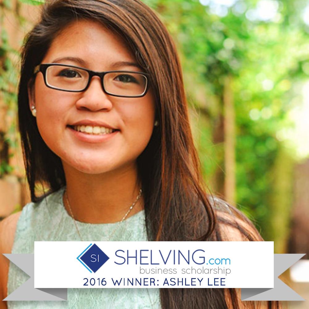 2016 business scholarship winner ashley lee