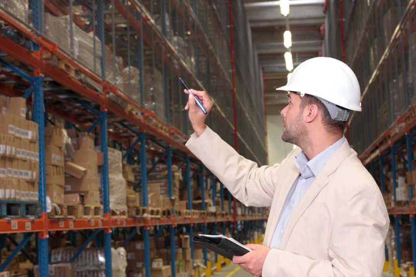 inventory count in warehouse