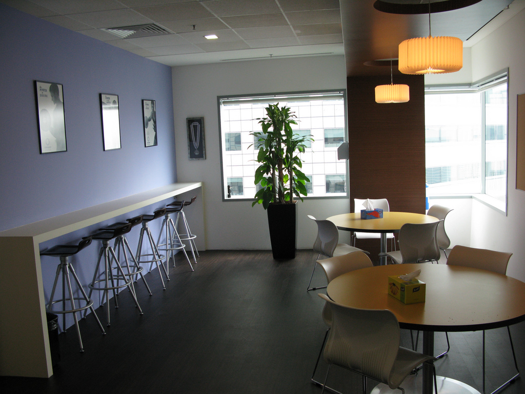 What facilities should you provide your employees the for Office break room ideas