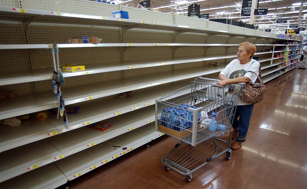 Retail Product Shortages