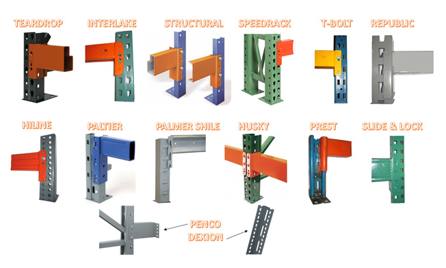 Pallet Rack Identification Brand And Rack Types