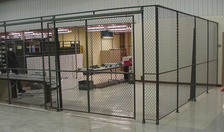 The Benefits Of Wire Security Partitions - The Shelving Blog
