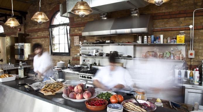 How To Organize Your Kitchen For A Pop Up Restaurant The Shelving Blog