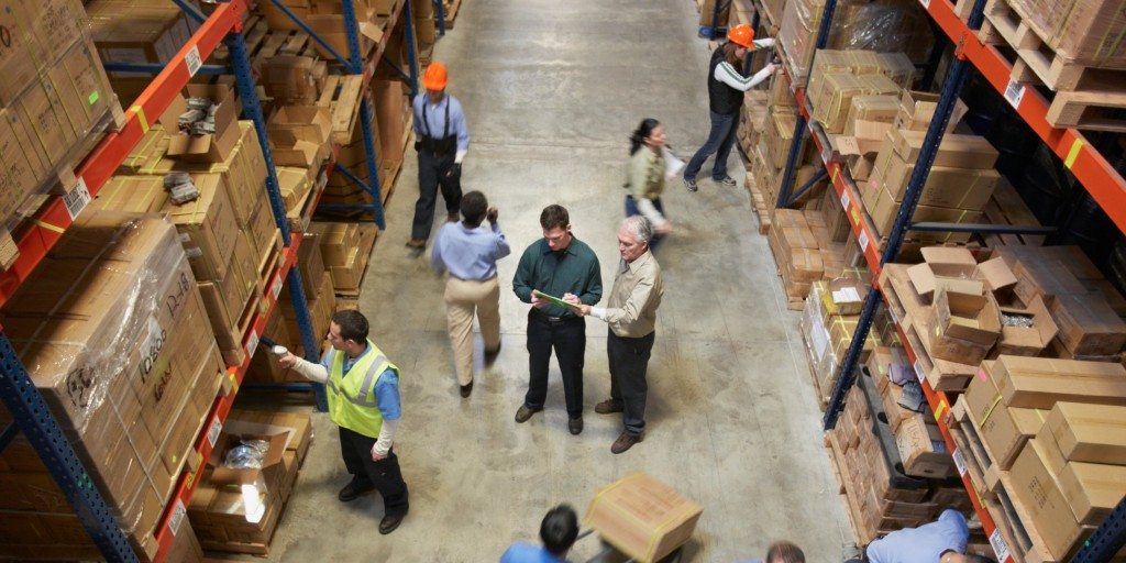 warehouse employees