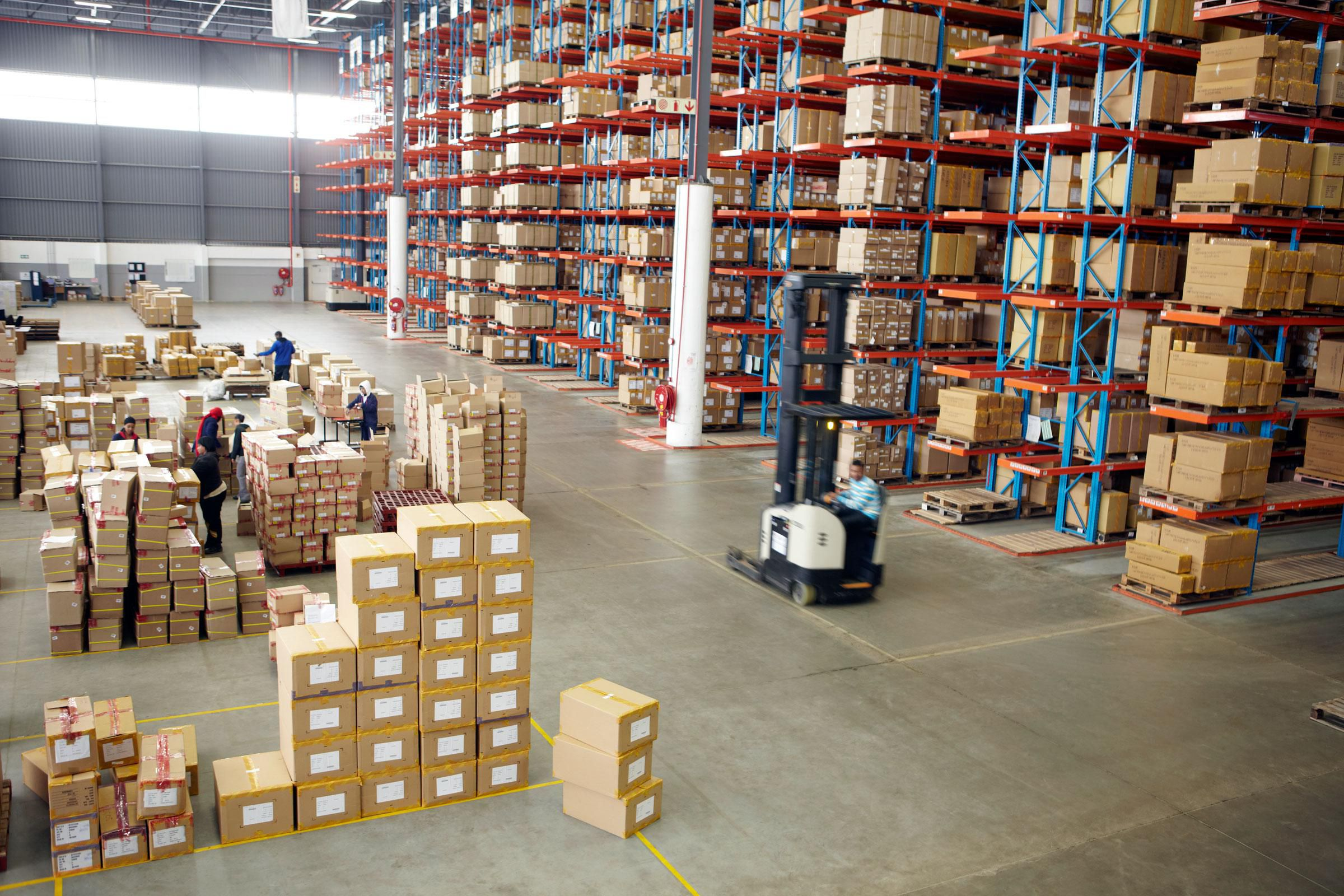 Common Sources Of Wasted Warehouse Space Shelving Com