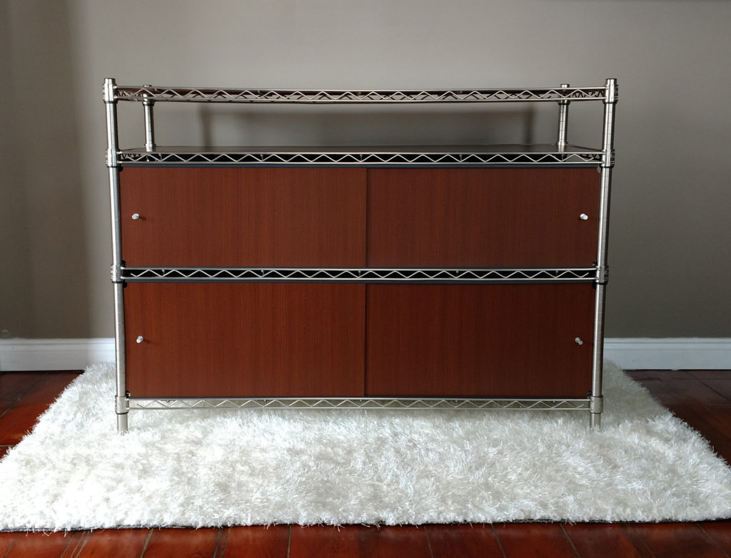 Wire Shelving Doors