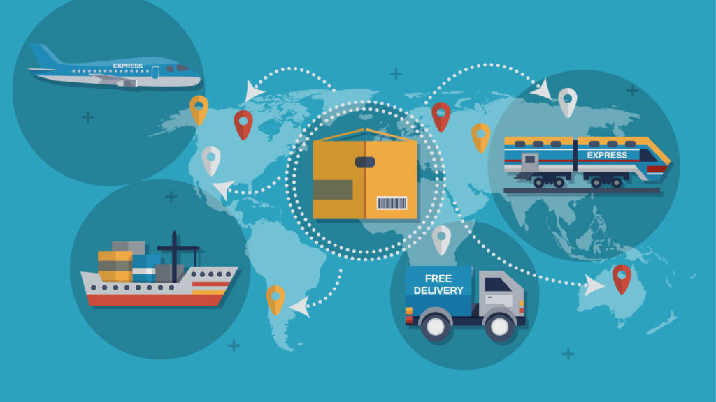 Supply chain infographic